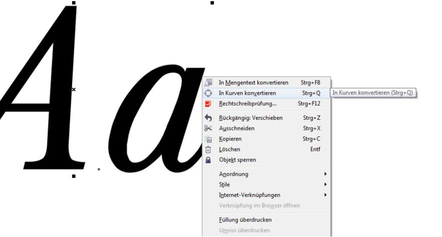 Corel Draw Font
