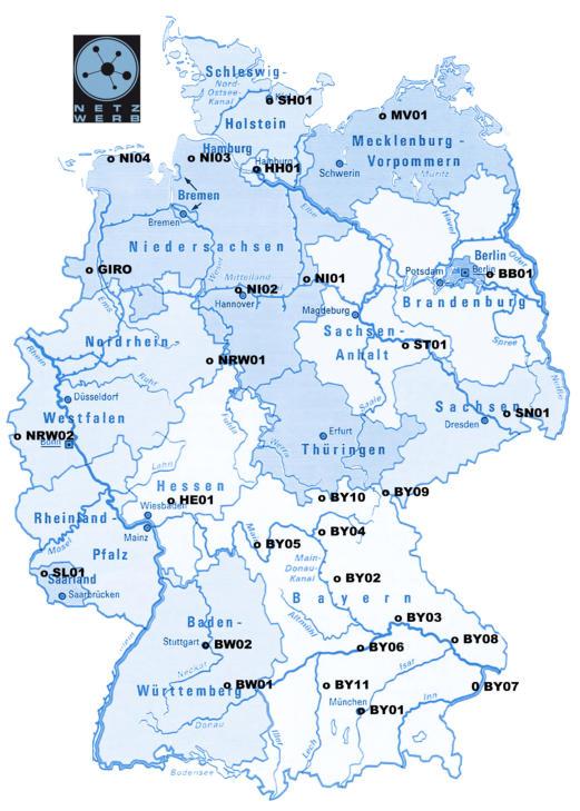 Netzwerb Deutschland